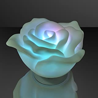 Floating Deco Rose with Color Change LEDs