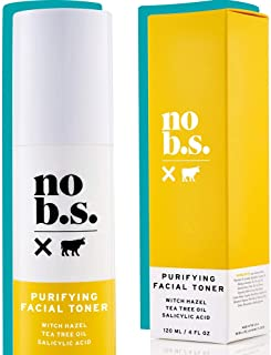 Sponsored Ad - No B.S. Salicylic Acid Facial Toner with Witch Hazel, Lavender, and Tea Tree Oil - Pore Minimizer. Clarifyi...