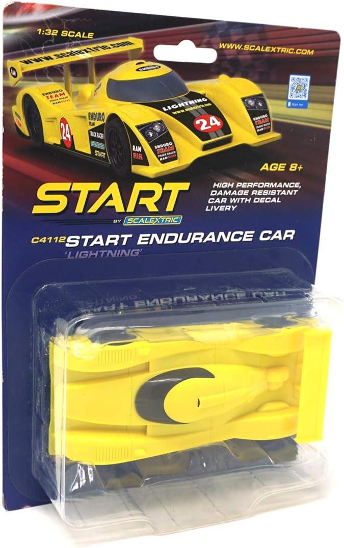 Scalextric Start Endurance LMP Style Car Yellow Lightning 1:32 S