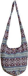 PANASIAM Schulterbeutel, gewebte Designs aus fester hochwertiger Baumwolle