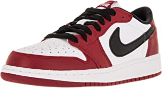 Nike Jordan Kids Air Jordan 1 Retro Low Og BG Varsity Red/Black/White Basketball Shoe 6 Kids US