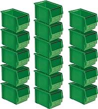 FB 3 - Caja expositora (16 unidades, 350/300 x 200 x 200 mm, 12 L), color verde