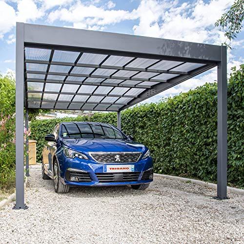 Trigano Carport Libeccio 15.8m2 aus Aluminium, 87905P1