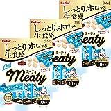 ペティオ (Petio) 犬用おやつ Meaty ミーティ (無添加) ササミ&タラ 10本×3個 (まとめ買い)