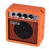 ammoon Mini Amplificateur Haut-parleur Haute Sensibilité à Pile 5W 9V pour Guitare...