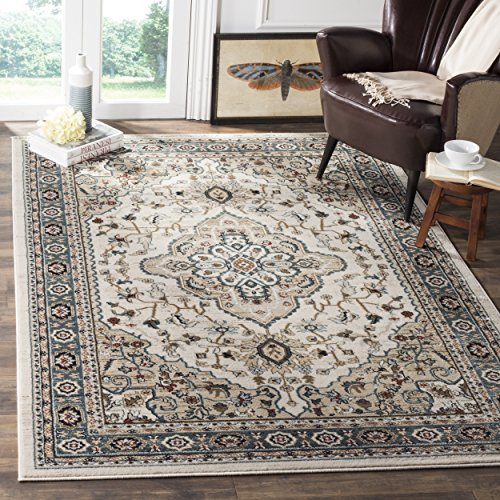 Safavieh Lyndhurst Collection LNH338B Oriental Cream and Beige Area Rug (8' x 10')