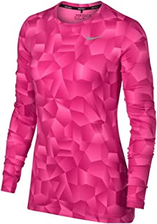 Nike Dry UV Top Knit HO Print Golf Baselayer 2017 Women