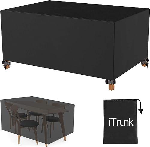iTrunk Housse Salon de Jardin Imperméables(600D Oxford, 250 x 210 x 90 cm) Housse de Protection Salon de Jardin avec ...