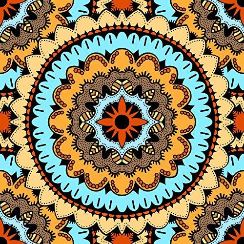 UIOLK Impresiones en Lienzo Pintura de Arte de Lienzo nrdico patrn tnico Pintura de Pared Decorativa Carteles Retro Arte Decorativo Abstracto decoracin Colorida hogar