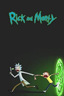 Rick and Morty: Movie Notebook, Perfect Birthday Gift for Boyfriend, Funny Christmas Present for Man, Daily Journal (100 lined pages 6x9)