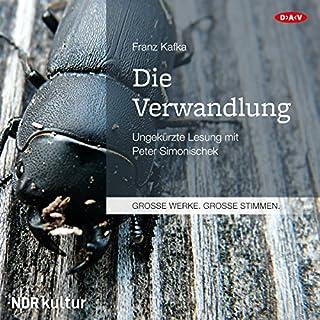 Die Verwandlung                   Autor:                                                                                                                                 Franz Kafka                               Sprecher:                                                                                                                                 Peter Simonischek                      Spieldauer: 2 Std. und 1 Min.     127 Bewertungen     Gesamt 4,5