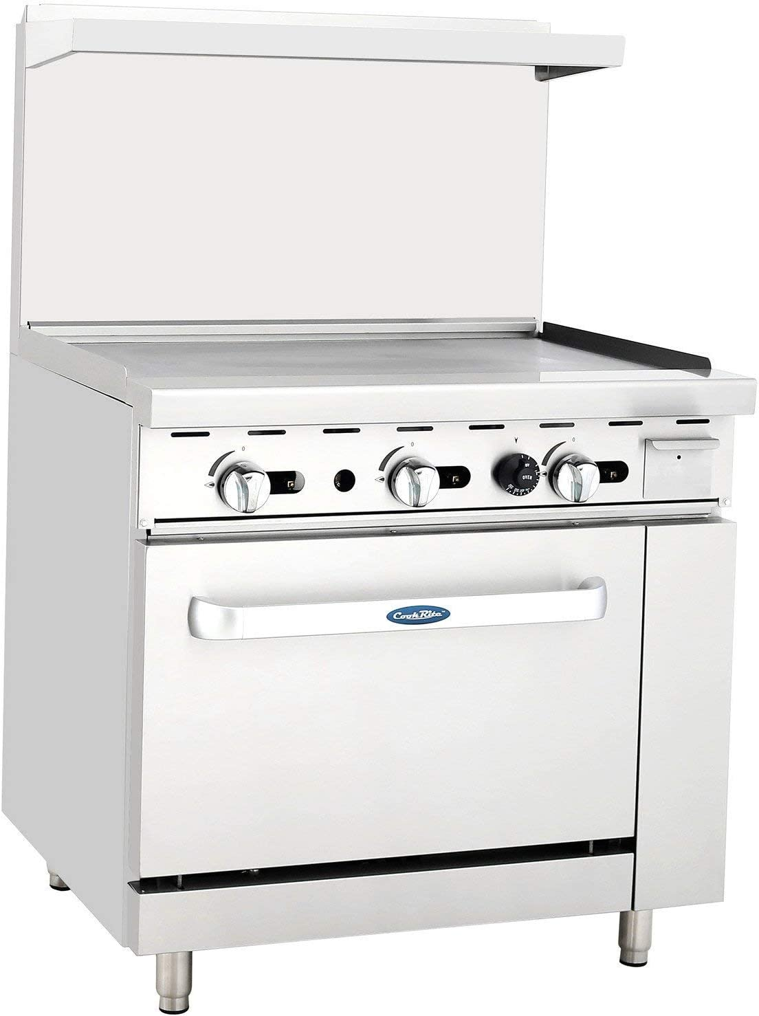 ATOSA US ATO-36G Today's only Commercial Shipping included Restaurant Ste Griddle Stainless 36
