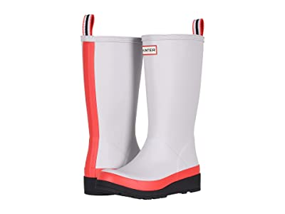Hunter Original Play Boot Tall Rain Boots (Hunter Red/Hunter White/Black) Women