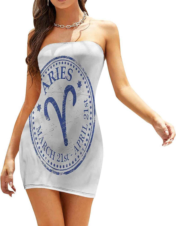 Women's Strapless Bodycon Club Dress Ram Silhouette Dresses