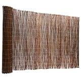 casa pura Brise Vue canisse 100% Produit Naturel - clôture en Bois de Saule résistant | Tailles au Choix, 200x300cm