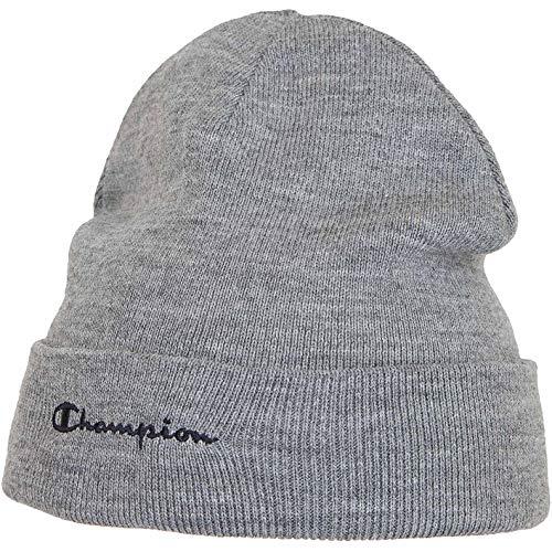 Champion - Gorro de invierno con logo gris Talla única