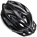 Zacro Lightweight Bike Helmet, Cycle Helmet Adjustable Size for Adult with Detachable Liner and a Headband, Grey