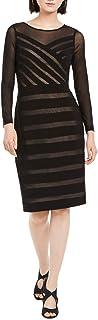 Women's Illusion Banded Sheath Dress
