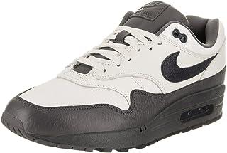 Nike Air Max 1 Premium Men's Running Shoes Sail/Dark Obsidian-Dark Grey 875844-100