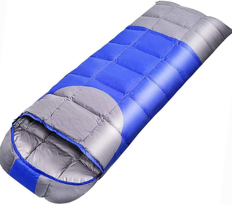 LL Einzel Schlafsack Erwachsene Im Freien Herbst Winter Knnen Ultraleichte Warm-Down-Schlafscke Genht Werden