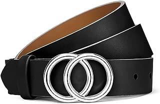 Best blue leather belt womens Reviews