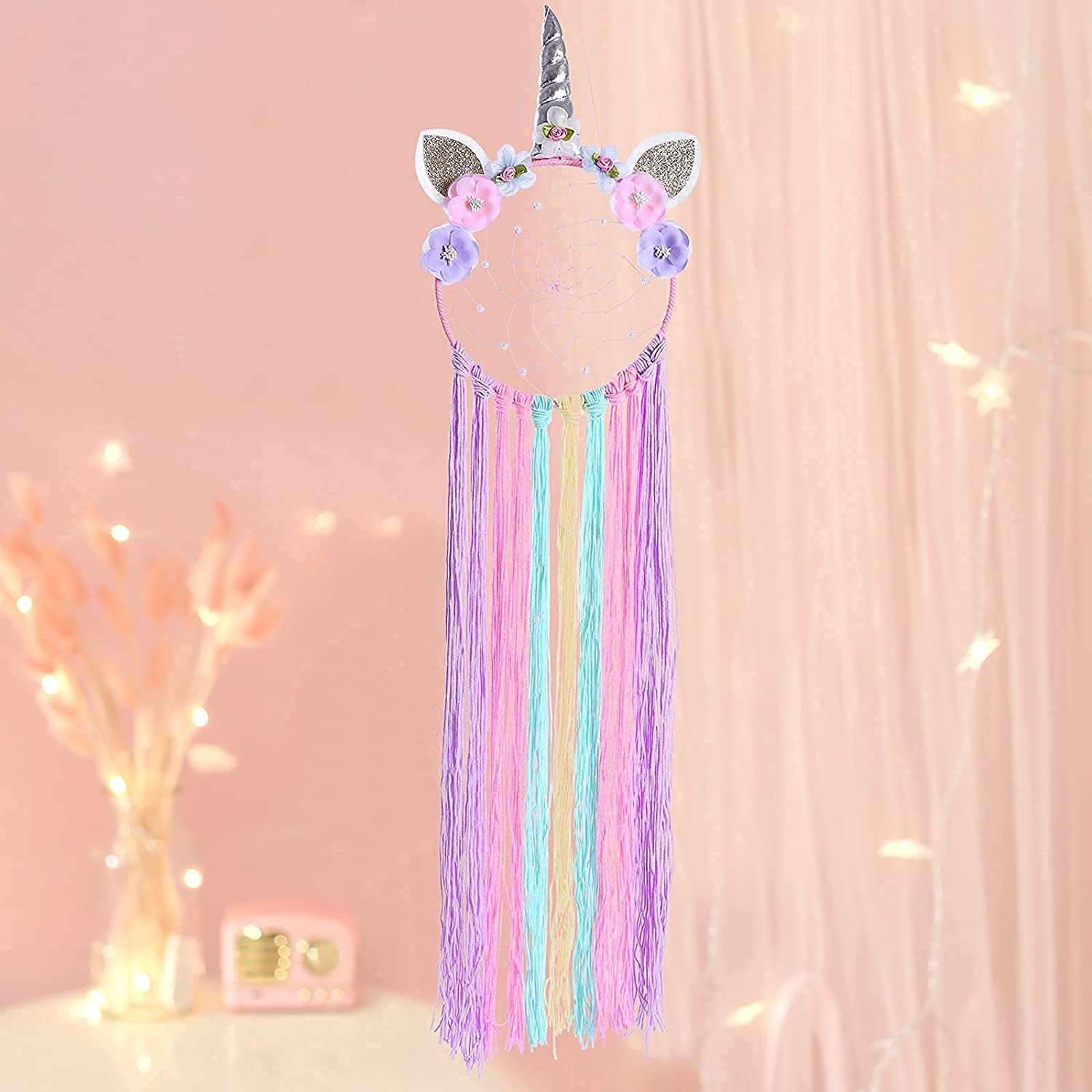 Dream Catcher Now on sale Flower Tassel Pendant Wall Popular brand in the world Home Car DI for Hanging