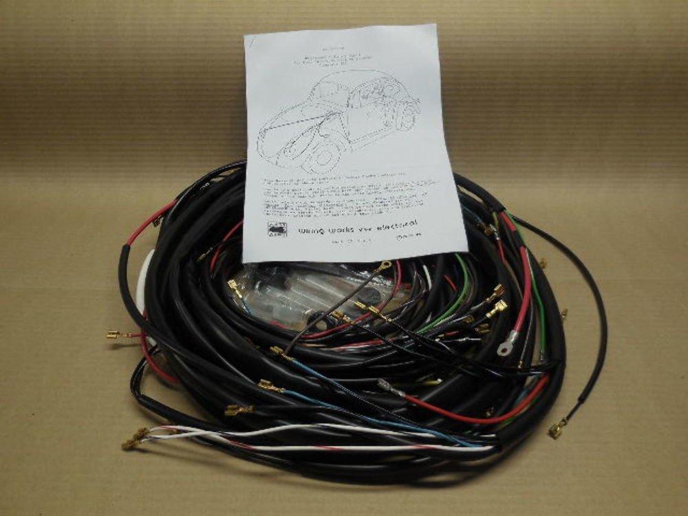 [SCHEMATICS_48ZD]  Amazon.com: WIRING WORKS Complete Wire Harness Kit, 1968-1969 All Karmann  GHIA, USA Made: Automotive | 1970 Vw Wiring Harness |  | Amazon.com