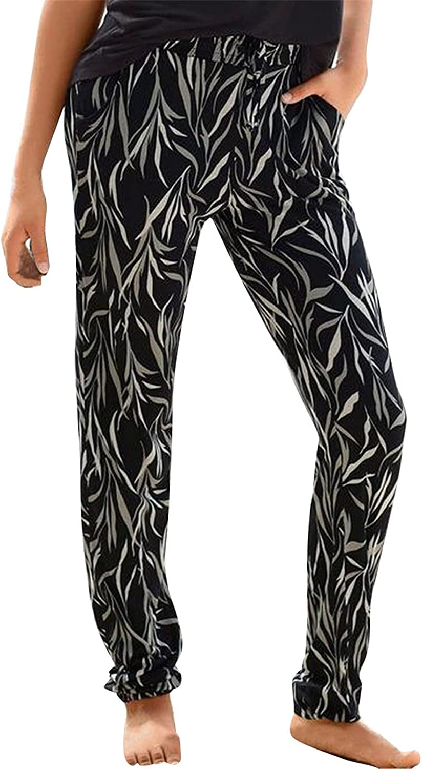 Boho Super sale period limited Print Pants for Women High Inexpensive wi Foot Beam Casual Waist