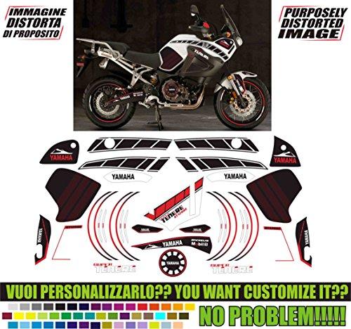 Kit adesivi decal stickers YAMAHA XT 1200 Z SUPER TENERE FORMANUDESIGN 2015