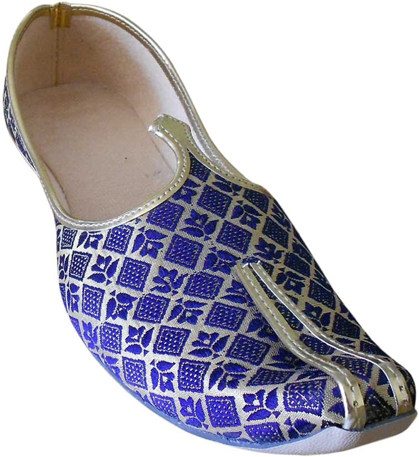 Kalra Creations Men's Traditional Indian Wedding Mojari shoes
