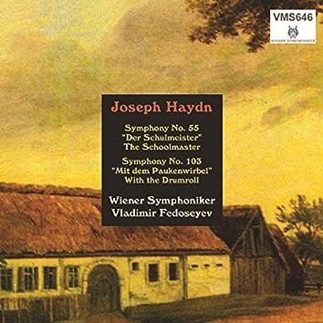 Haydn: Symphonies Nos. 55 & 103