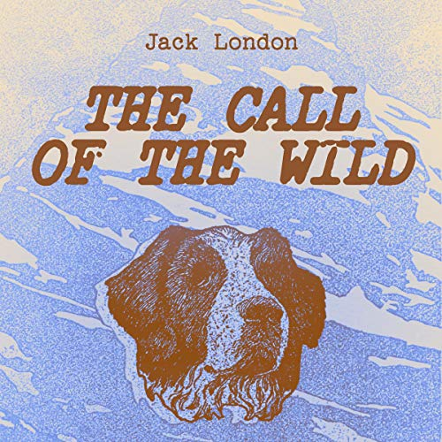 The Call of the Wild Classic Children's Book cover art