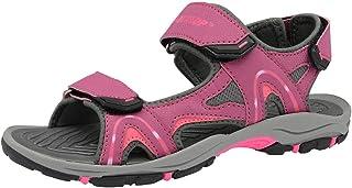 Dunlop - Sandalias deportivas para mujer negro negro