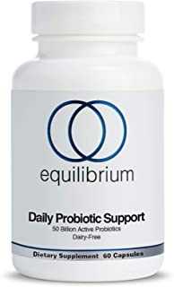 Daily Probiotic | Improve Digestion, Mood, Energy | Probiotics for Women and Men | 50 Billion CFU, Dairy Free, Shelf Stabl...