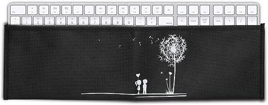 kwmobile Funda Universal para Teclado Apple Magic Keyboard con Teclado num/érico Estuche de Neopreno con Cremallera con dise/ño Dont Touch my Keyboard