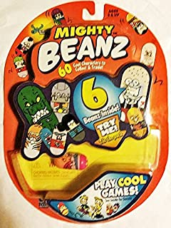 Mighty Beanz Original Series 1 Pack with 6 Beanz