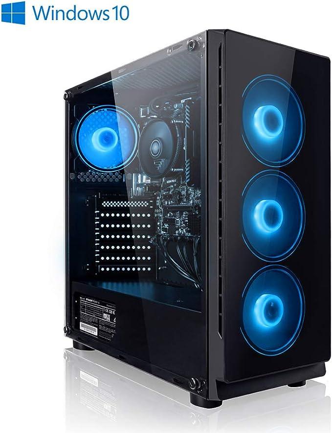 Megaport Ordenador PC AMD Ryzen 3 3200GE 4X 3.30GHz (Turbo: 3.80 GHz) • 120GB SSD • 1TB HDD • 8GB DDR4 2400 • Vega 8 • Windows 10 Home • PC Gamer • ...