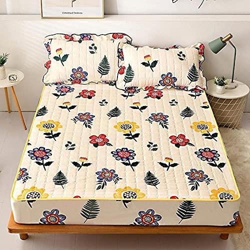 CYYyang Sábana Ajustable súper Suave, cálida y acogedora Una Sola Pieza de sábana de Invierno Engrosamiento-9_200 * 220cm