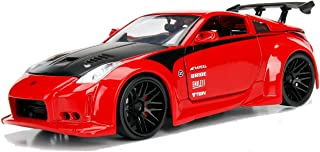 Jada 99110 2003 Nissan 350Z Red JDM Tuners 1/24 Diecast Model Car