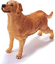 """RECUR Toys 10"""" Labrador Retriever Figure Toys, Soft Hand-Painted Skin Texture Dog Toys for Kids- 1:4 Scale Realistic Design Labrador Replica, Ideal for Collectors, Ages 3 and Up"""