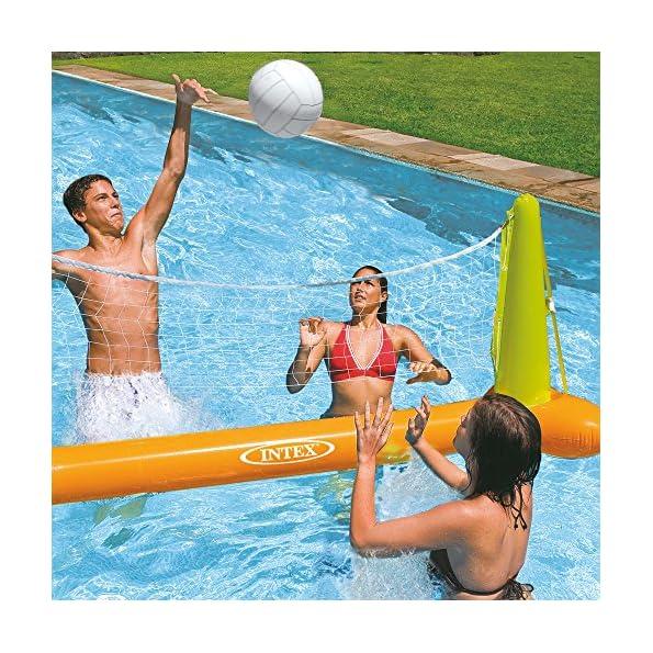 Intex-56508-Gioco-Volley-Galleggiante-Colore-GialloVerde-239-x-64-x-91-cm-56508