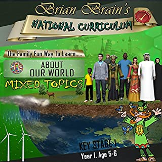 Brian Brain's National Curriculum KS1 Y1 About Our World Mixed Topics cover art