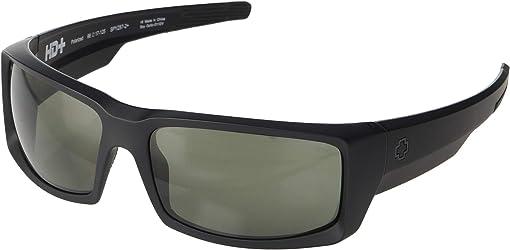 Matte Black Ansi RX/HD Plus Gray/Green Polar