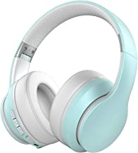 Baseman Active Noise Cancelling Headphones Bluetooth 5.0 Wireless Headphone Over Ear, Deep Bass Boosted Head Phones with M...