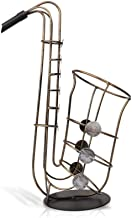 Wine Rack Wine Rack Decorations Art Craft Saxophone Wine Rack Home Decoration Wrought Iron Wine Cooler Desktop Kitchen Sto...