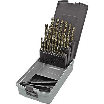 Keil 307 501 113 - Juego de 25 brocas de cobalto para perforadora de metal en estuche RoseBox (HSS-E DIN 338, rectificada, afilada en cruz, 1-13 mm): Amazon.es: Industria, empresas y ciencia