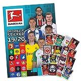 Fußball Bundesliga Saison 2019/20 - Komplettset alle 295 Sticker + Sammelalbum