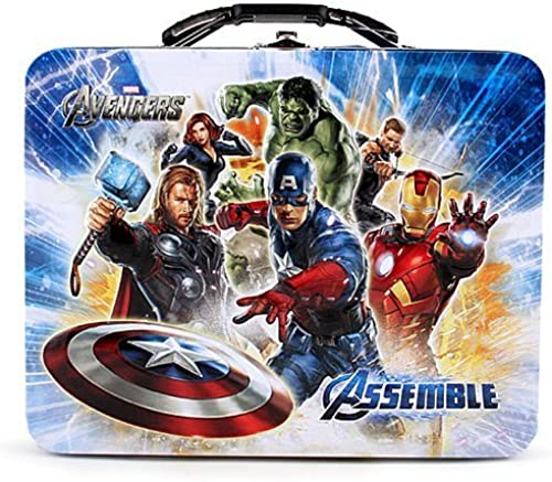 The Avengers Tin Lunch Box [Avengers Assemble] by Captain America