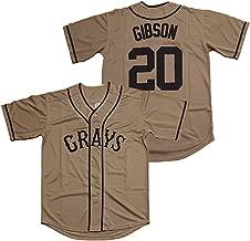 Kooy Josh Gibson #20 Homestead Grays Negro National League Baseball Jersey