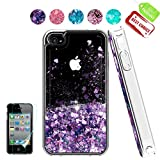 iPhone 4 Case,Apple iPhone 4 4S Case, Atump Glitter Flowing Liquid Floating Protective